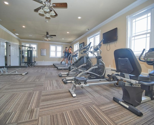 Fitness Area Detail Graycliff Luxury Townhomes