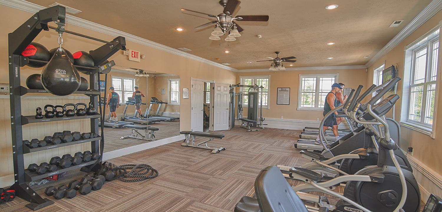 Graycliff Luxury Townhomes Fitness Center